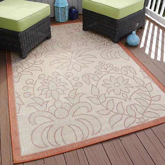 Outdoor Rugs Clearance: Buy Lavish Home Botanical Garden Indoor/Outdoor Area Rug