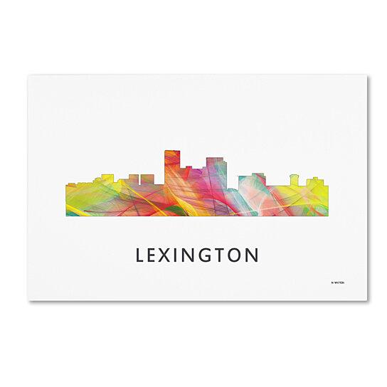 Buy Marlene Watson 'Lexington Kentucky Skyline WB-1