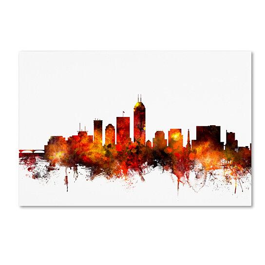 Buy Michael Tompsett Indianapolis Indiana Skyline Ii