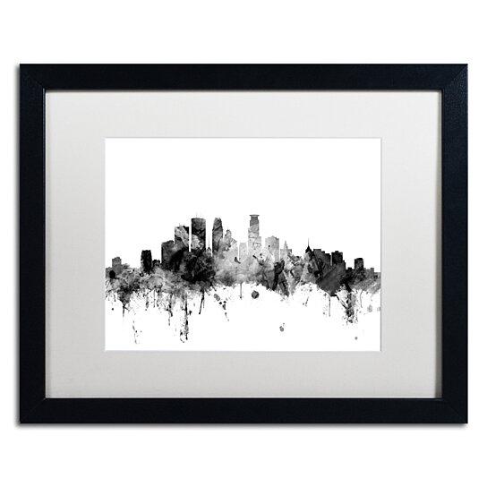 Buy Michael Tompsett Minneapolis Mn Skyline B Amp W Black