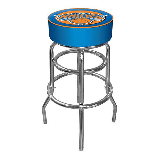 Buy New York Knicks Nba Padded Swivel Bar Stool 30 Inches