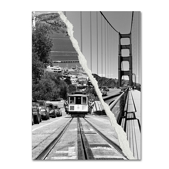 Buy Philippe Hugonnard San Francisco Cable Car Canvas