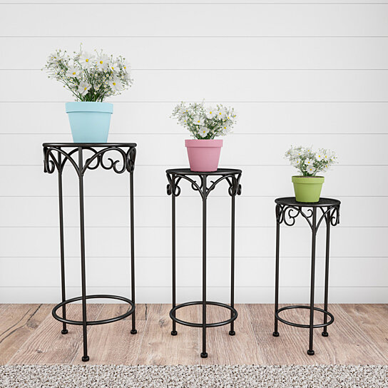 Indoor Or Outdoor Nesting Wrought Iron