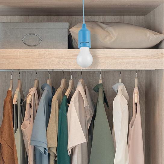 Buy Portable Closet Garage Basement Pull Cord LED Light