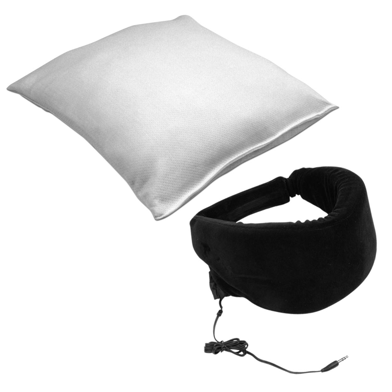 Remedy Memory Foam Pillow/Heat Sensitive Sleep Mask