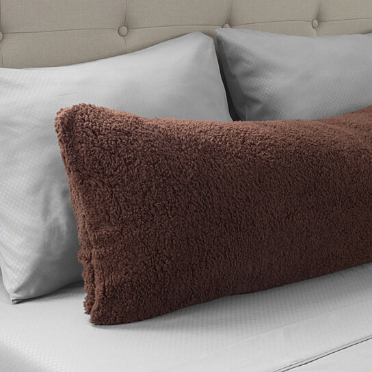 Buy Warm Body Pillow Cover Soft Comfy Pillow Case Zippered