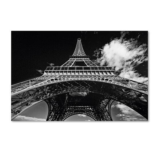 Paris Eiffel Tower Pillow 16 X 16: Buy Yale Gurney 'Paris Eiffel Tower 1' Canvas Art 16 X 24