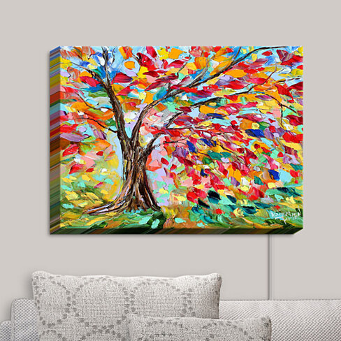 Canvas Wall Art by DiaNoche Designs Poetry of a Tree - Karen Tarlton