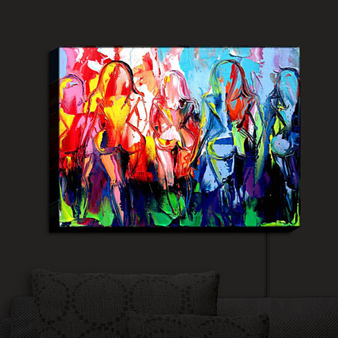 Illuminated Wall Art By Dianoche Designs