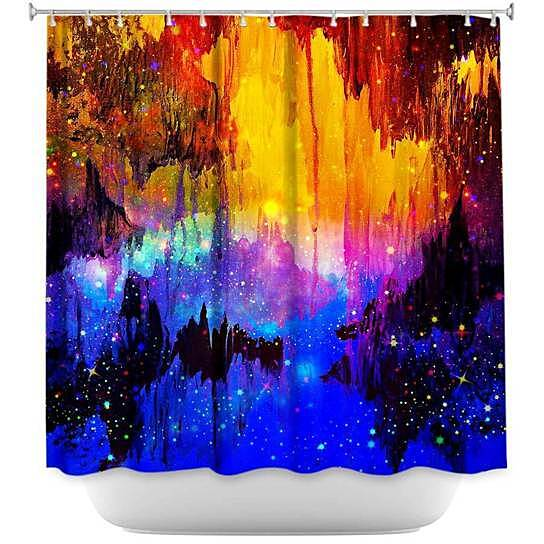 Buy Shower Curtain Unique from DiaNoche Designs - Misty Cavern by ...