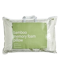 Shredded Memory Hypoallergenic Bamboo Pillow 2 Pack