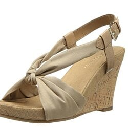 Aerosoles Women's Plush Pillow Synthetic Wedge Sandal 6M