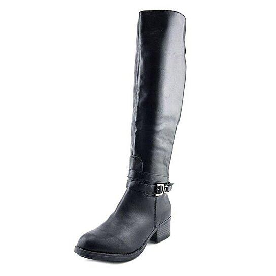 buy rage imelda knee high boots black size 6 5