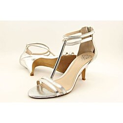 Vince Camuto Mitzy Dress Sandals Silver (6M, Silver)
