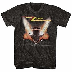 ZZ TOP-ELIMINATORER-MINERAL WASH ADULT S/S TSHIRT-S