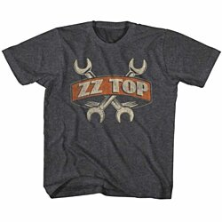 ZZ TOP-WRENCHES-BLACK HEATHER TODDLER S/S TSHIRT-2T