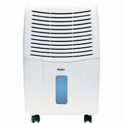 Haier Energy Star 50 Pint Electronic Dehumidifier, HEH50ET, Refurbished