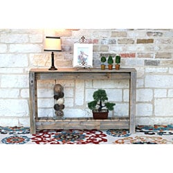 Rustic Entry-Table \ Console Table \ 46''W x 8''D x 28''H