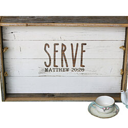 Serve Inspired Accent Tray