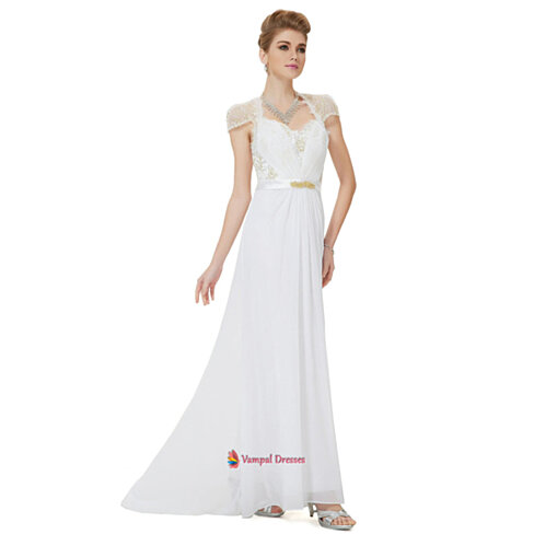 White Mother Of The Bride Dresses 88