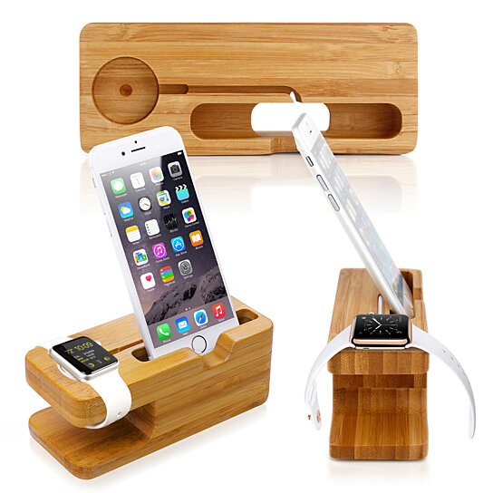 iphone charging station buy bamboo charging dock station charger holder stand for 11746