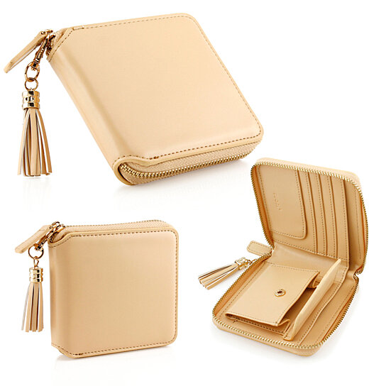 buy fashion women leather coin mini wallet case card