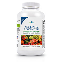 DrVita Six Daily Advanced Multivitamin - 180 Capsules