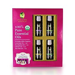 Paradise Springs Starter Pack, 100% Pure Essential Oils