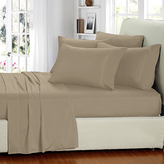 Buy 6 piece set ultra soft double brushed sheet set for How to buy soft sheets