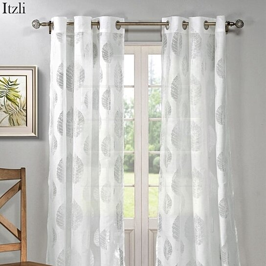Buy Set Of 2 Elegant Sheer Burnout Curtains By Duck River Textiles On Opensky