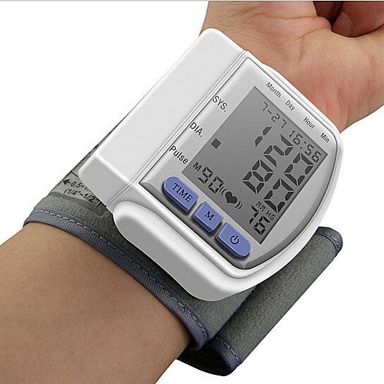 Buy Digital Wrist Blood Pressure Monitor Cuff Electric BP ...