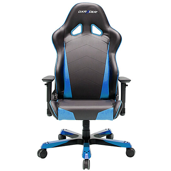 buy dxracer oh tb29 nb big and tall gaming chair pu black blue by newedge on opensky. Black Bedroom Furniture Sets. Home Design Ideas