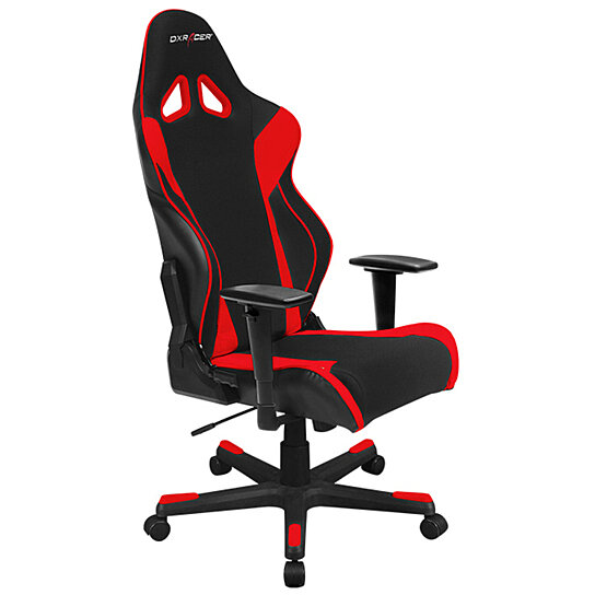 Stupendous Dxracer Oh Rw106 Nr High Back X Rocker Gaming Chair Strong Mesh Pu Black Red Uwap Interior Chair Design Uwaporg