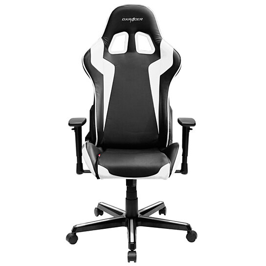 Fantastic Dxracer Oh Fh00 Nw High Back Gaming Chair Carbon Look Vinyl Pu Black White Pdpeps Interior Chair Design Pdpepsorg