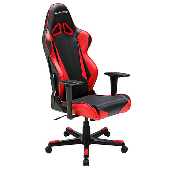 Buy DXRacer OH RB1 NR High Back Racing Chair For Gaming Carbon Look Vinyl PU
