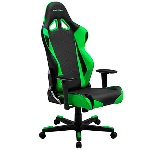 buy dxracer black green racing gaming chair recliner. Black Bedroom Furniture Sets. Home Design Ideas