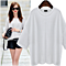 Casual Loose Half Sleeve Cotton T shirt Tops