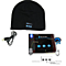 Beautiful Music Soft Beanie Hat with Stereo Headphone Headset Bluetooth