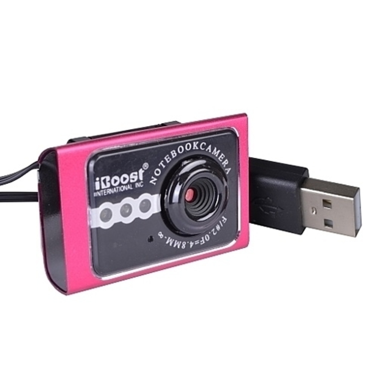 LiveCam 2.0Mp USB 2.0 Webcam w/Built-in Microphone - Pink 57910a335078a82b1579c4a2