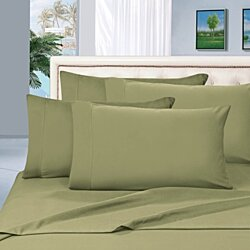 Elegant Comfort 1500 Series Wrinkle Resistant Egyptian Quality 100% Hypoallergenic Silky Soft Luxury 6-Piece Bed Sheet Set