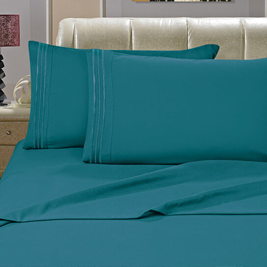Buy elegant comfort 1500 series wrinkle resistant egyptian for How to buy soft sheets