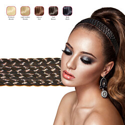 Hollywood Hair Multiple Hair Braids Headband for Woman