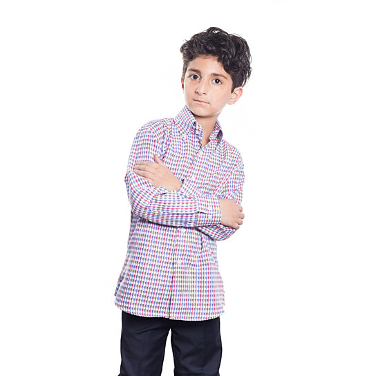 b53b4d0af Trending product! This item has been added to cart 7 times in the last 24  hours. Elie Balleh Milano Italy Boys Slim Fit Button Down ...