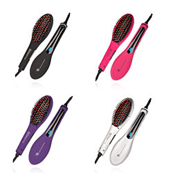 Soft Touch Straightening & Styling Brush