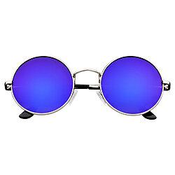 0ed56b41c8 John Lennon Inspired Sunglasses Round Hippie Shades Retro Reflective  Colored Lenses