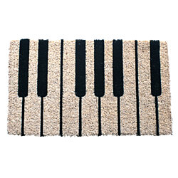 Piano Handwoven Coconut Fiber Doormat