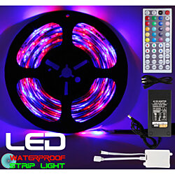 Led Strip Lighting 5M 5 Meter 16.4 Ft RGB 300 LEDs Flexible Color Changing