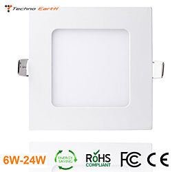 Techno Earth Dimmable Ceiling Panel Led Ultra Thin Kits with Led Driver  - Square