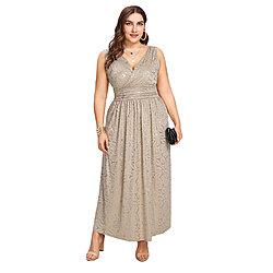 45eca3c746 Women s Plus Size Sequin Club Maxi Dress