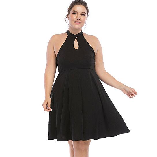Buy Womens Plus Size Little Black Dress By Esprlia On Opensky